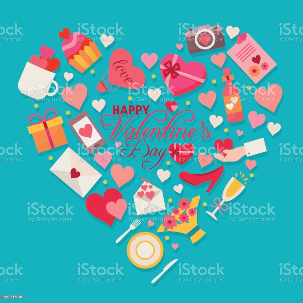 Happy Valentines day. royalty-free happy valentines day stock vector art & more images of adult