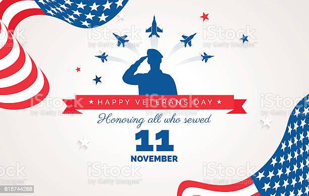 Happy veteran day flyer banner or poster vector id615744268?b=1&k=6&m=615744268&s=612x612&h=jgedyr4fic47o7mw7k6s2be9w4wmm7ucgevftskdype=