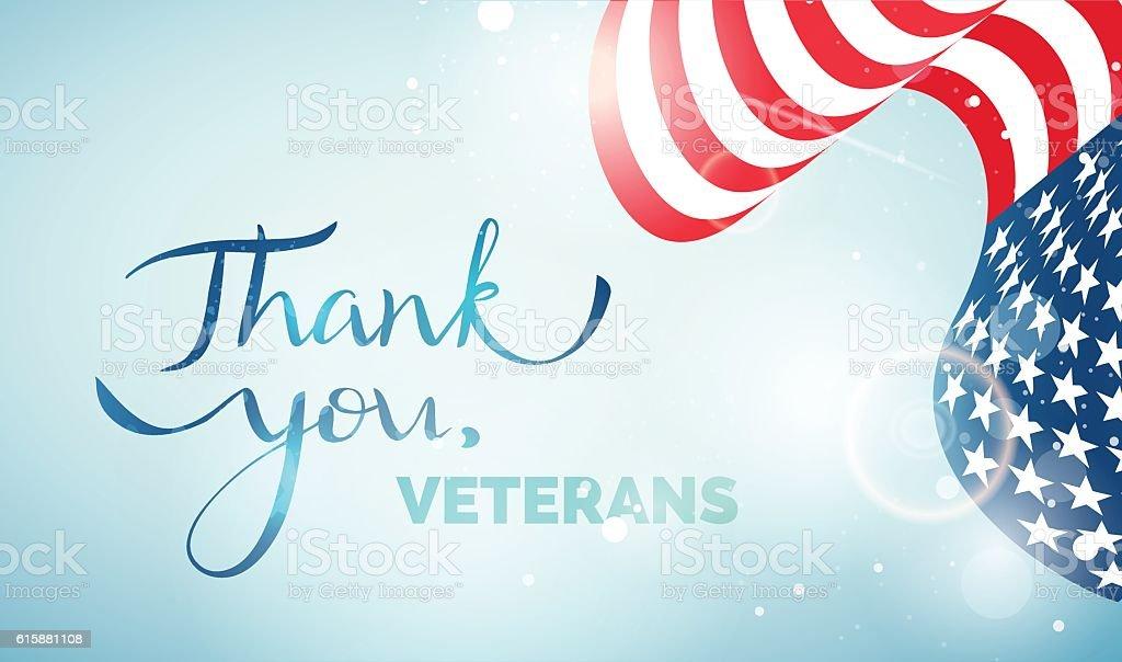 Happy Veteran Day Happy Veteran Day greeting card vector art illustration