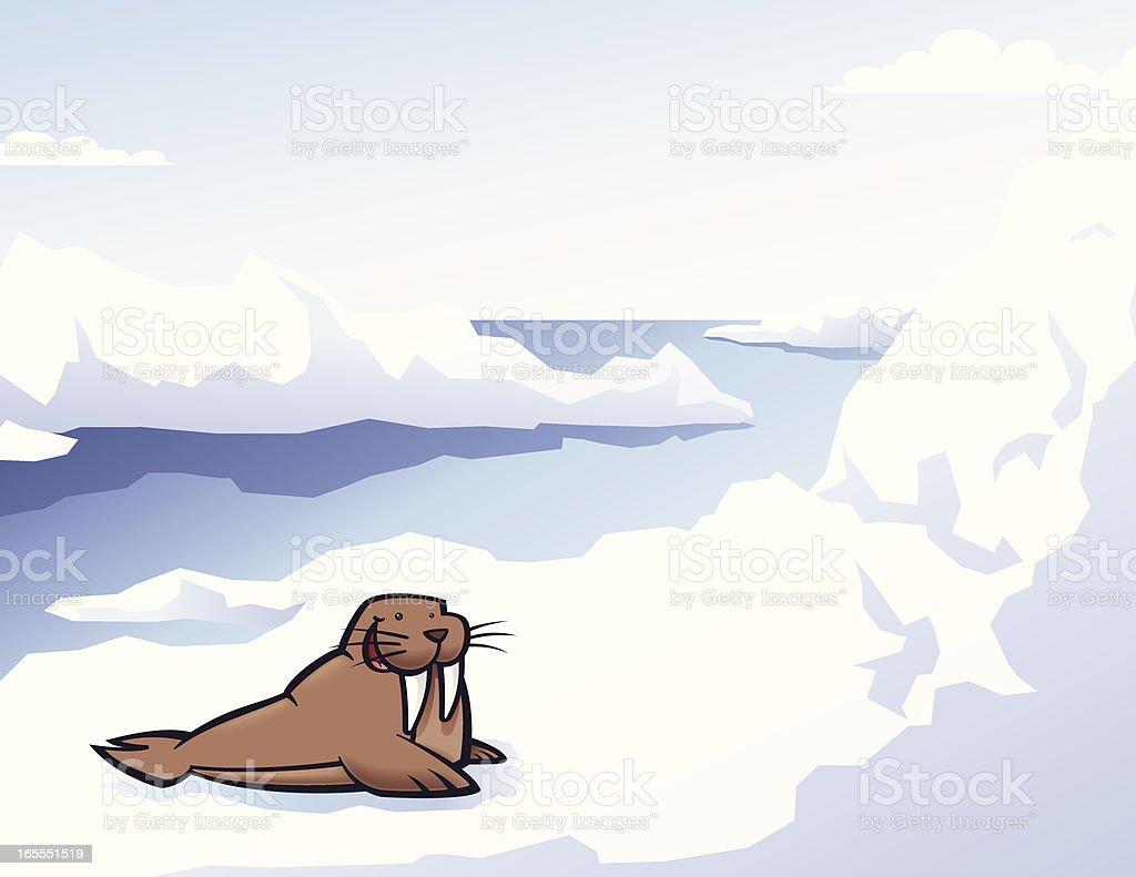 Happy Walrus royalty-free happy walrus stock vector art & more images of animal