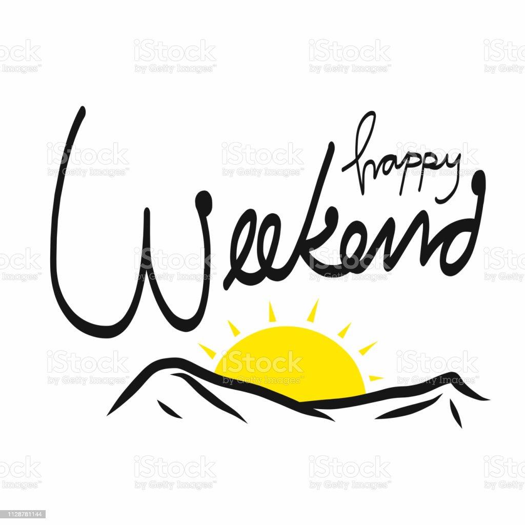 Happy Weekend Auf Deutsch