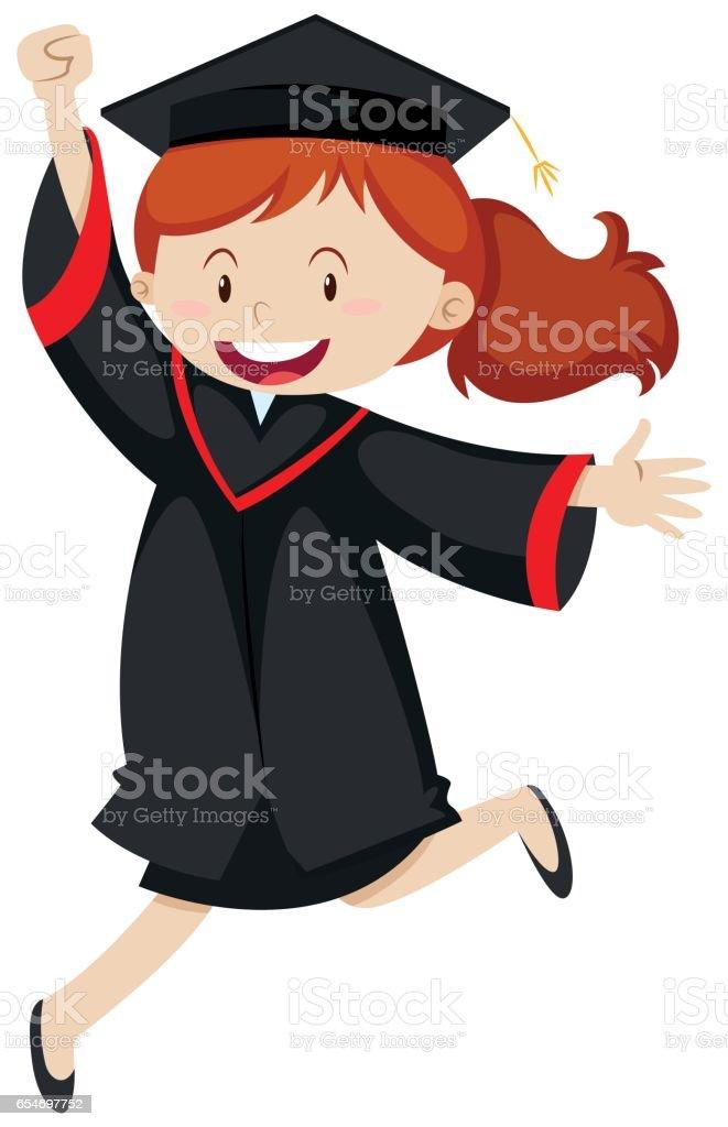 Graduation Cap And Gown Clip Art - Alternative Clipart Design •