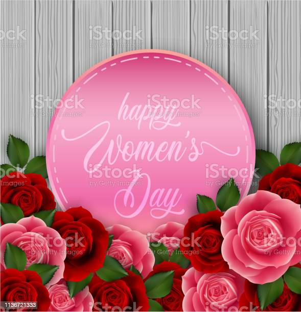 Happy womens day greeting card vector id1136721333?b=1&k=6&m=1136721333&s=612x612&h=xldne6gz 9y6ay6js6spy ay5okp65aqqtpzdsk 5 0=