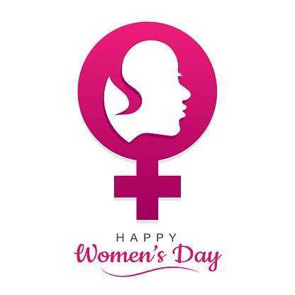 Happy women's day, International womens day poster, vector illustration
