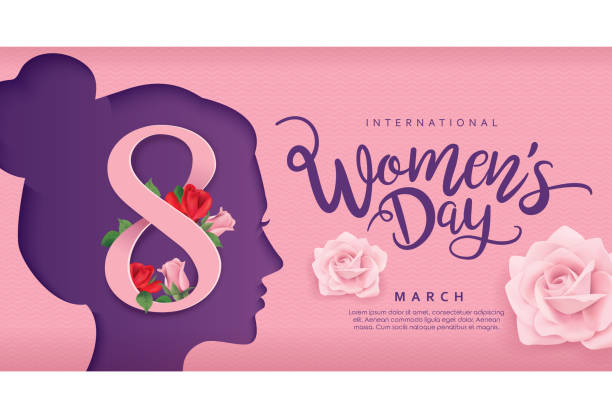 happy women's day - single mother stock illustrations
