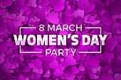 Happy Women's Day Vector Illustration