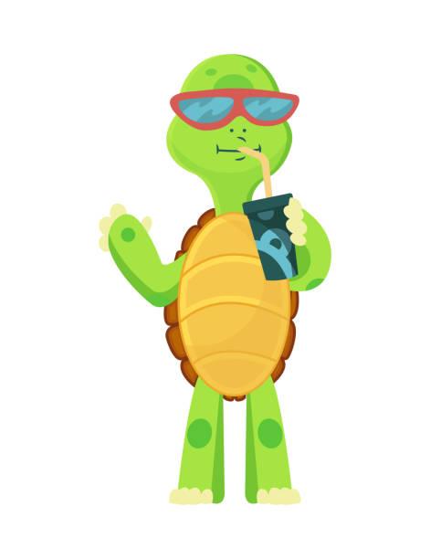 78 cartoon turtles with glasses illustrations & clip art - istock  istock