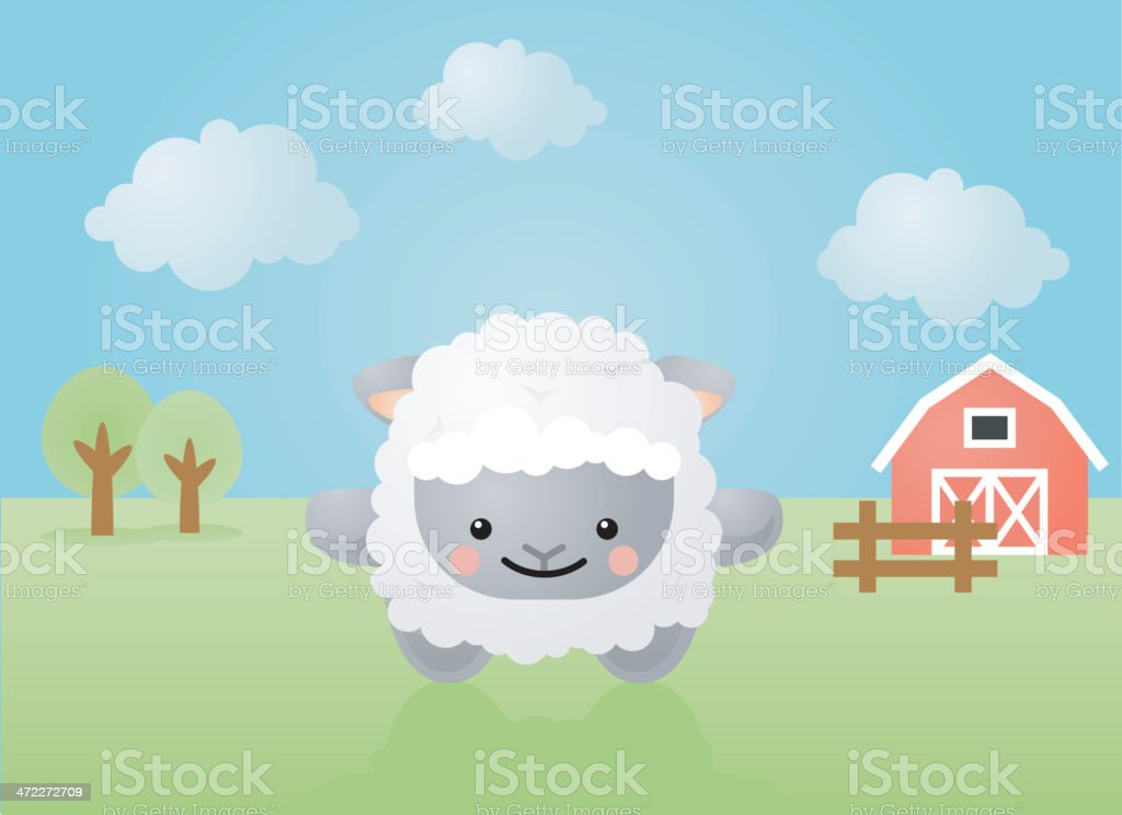 happyland: baaa royalty-free stock vector art