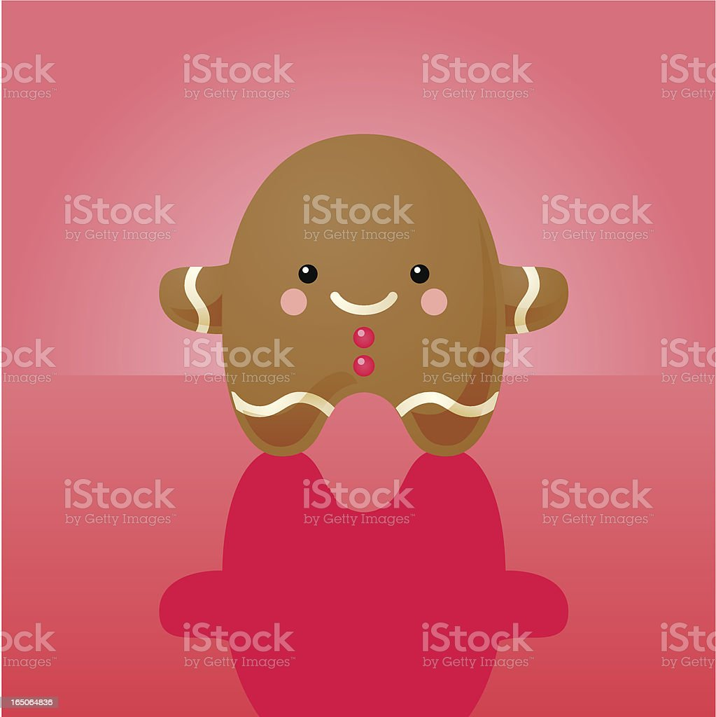 happyland: gingerbread man royalty-free stock vector art
