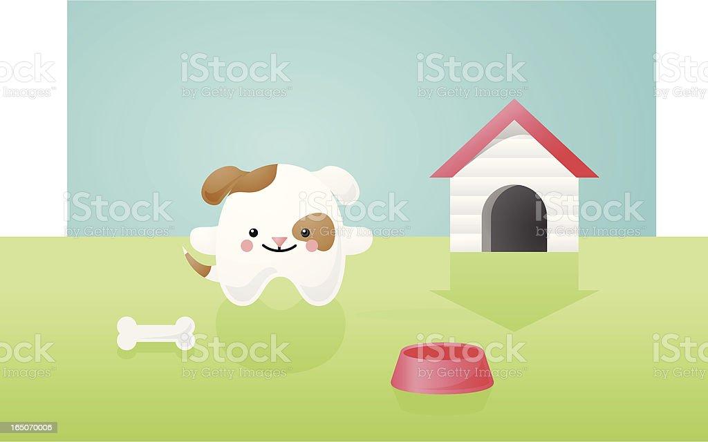 happyland happy dog royalty-free stock vector art
