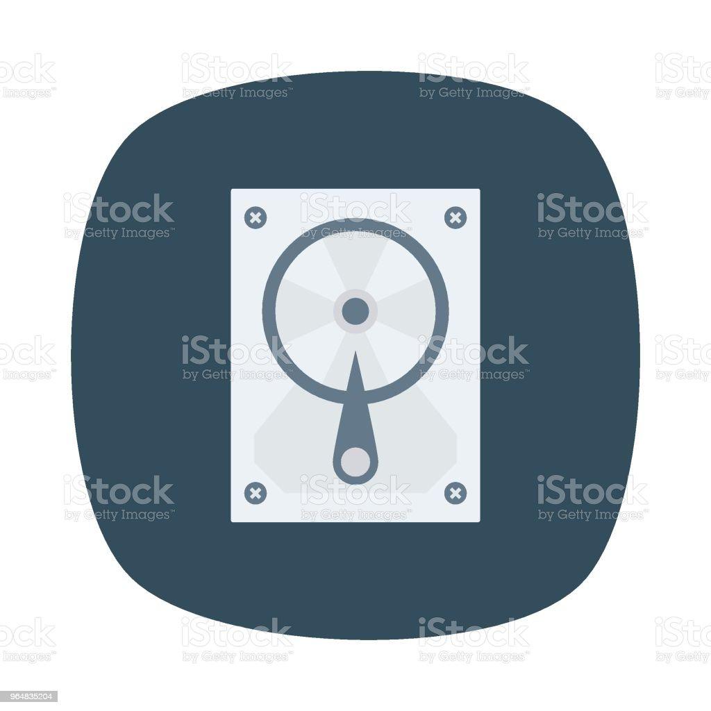 hard disk royalty-free hard disk stock illustration - download image now