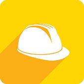 istock Hard Hat Icon Silhouette 1068584462