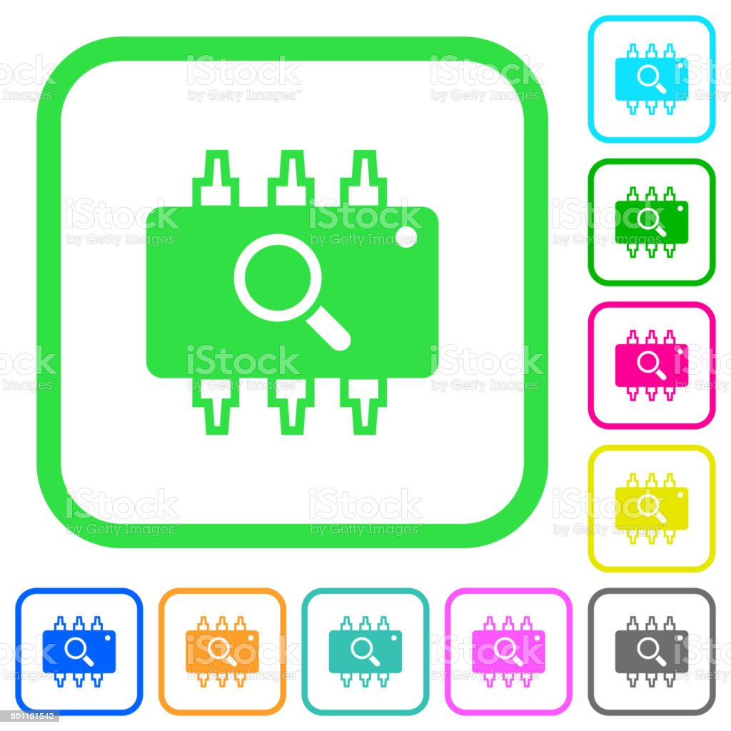 Hardware test vivid colored flat icons icons royalty-free hardware test vivid colored flat icons icons stock vector art & more images of business finance and industry