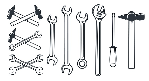 Hardware worker mechanical tools