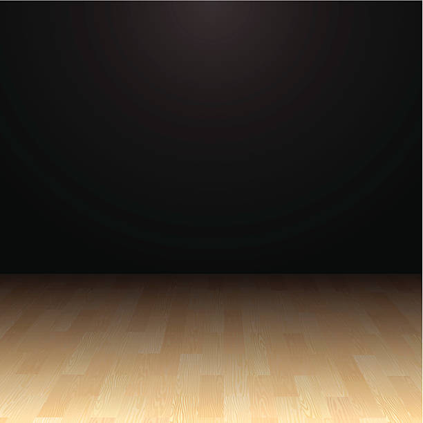 Hardwood Floor vector art illustration