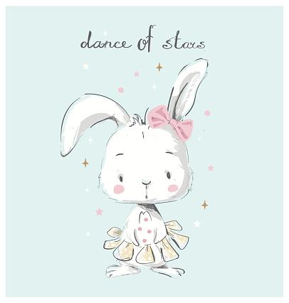 hare  ballerina