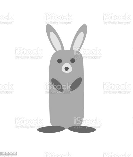 Hare isolated on white background primitive childrens style vector vector id963858598?b=1&k=6&m=963858598&s=612x612&h=rlcuee6vtmmipsxsoq4bxps7dgtjsyrswclhgjff2fk=