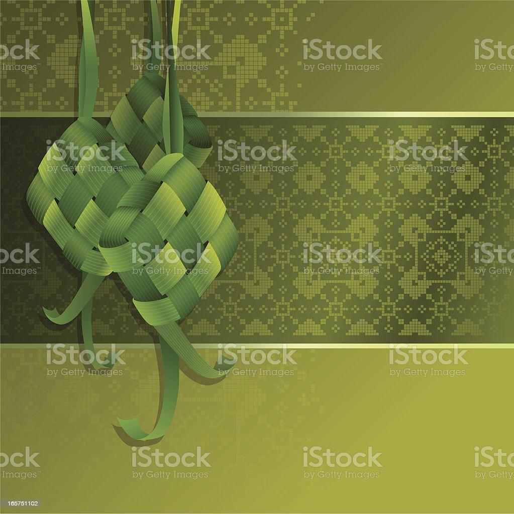 Hari Raya Background vector art illustration