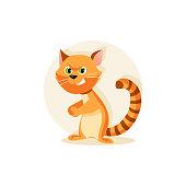 Harmful cat vector