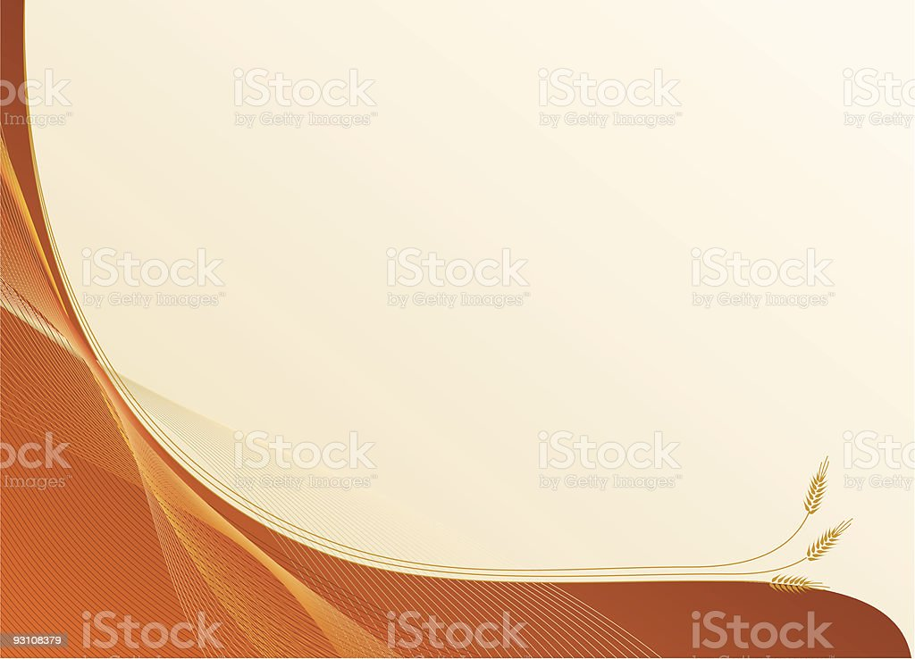 harvest and growth background royalty-free stock vector art