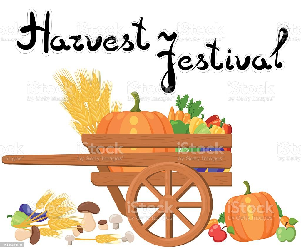 harvest festival harvest fruits and vegetables autumn collection of