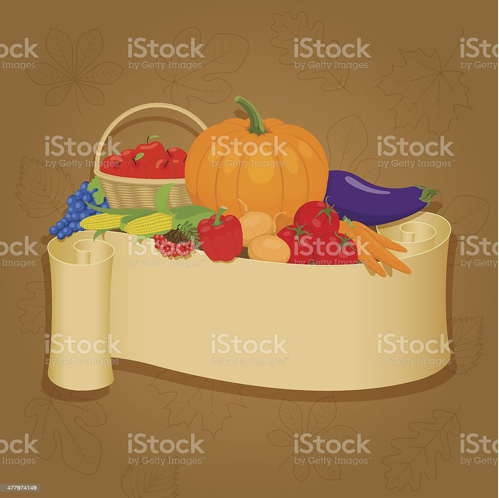 harvest royalty-free stock vector art