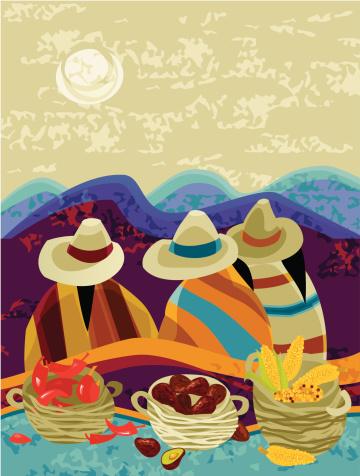 Harvesting Mexican Peasants