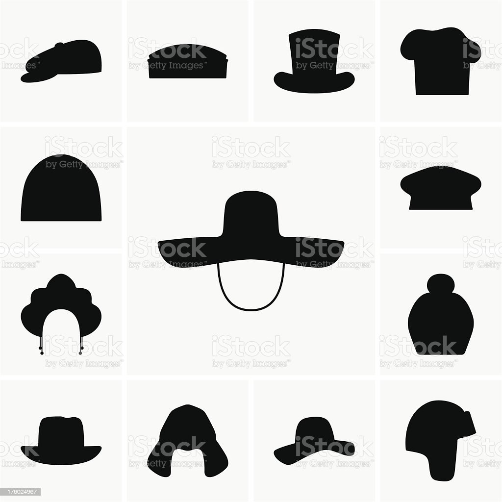 Hat royalty-free stock vector art