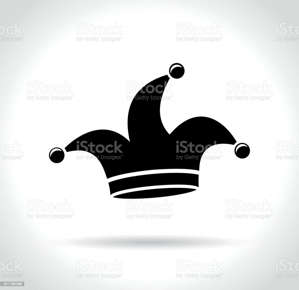 icône de chapeau sur fond blanc - Illustration vectorielle