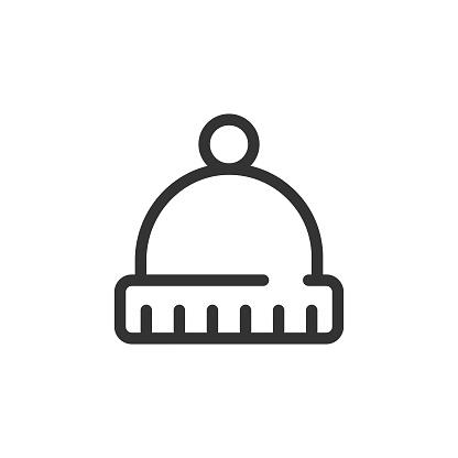 Hat Icon Vector Design.