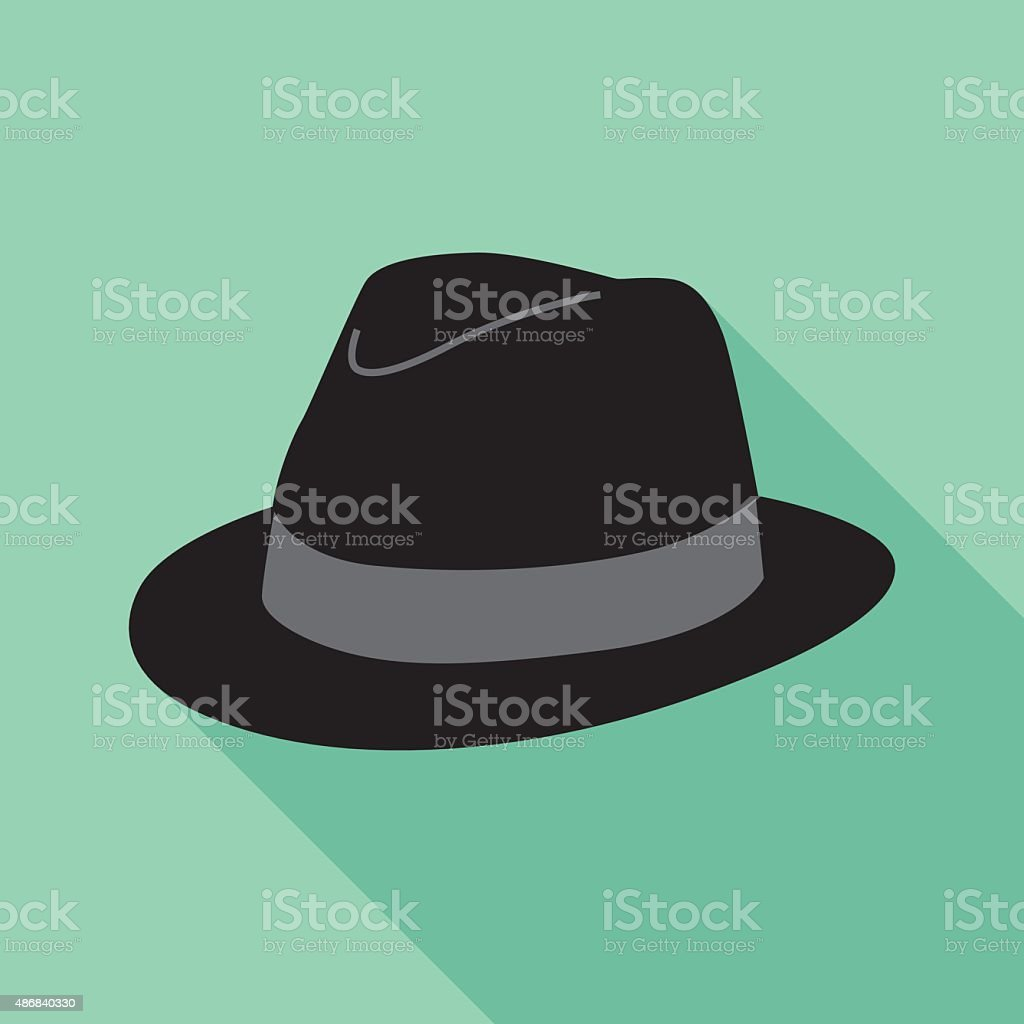 Hat Icon vector art illustration