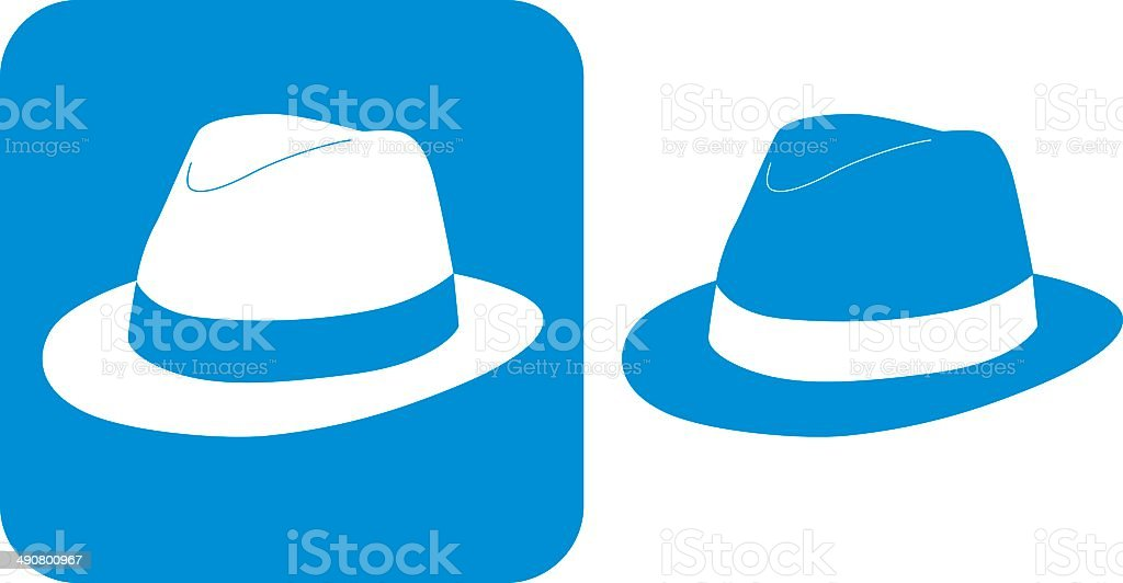royalty free fedora hat clip art vector images illustrations istock rh istockphoto com hat clip art pictures hat clip art free