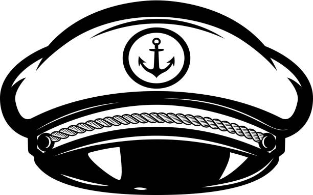Best Boat Captain Illustrations, Royalty-Free Vector