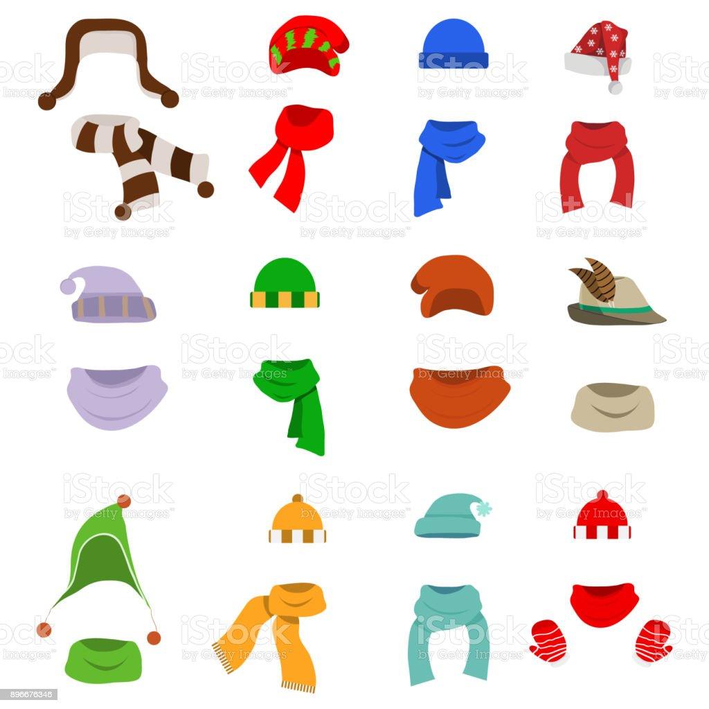 Un chapeau avec un foulard, un grand nombre de chapeaux avec des foulards.  Bonnet bdf29ec0894