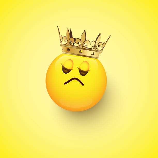 Best Crown Emoji Illustrations, Royalty-Free Vector Graphics & Clip