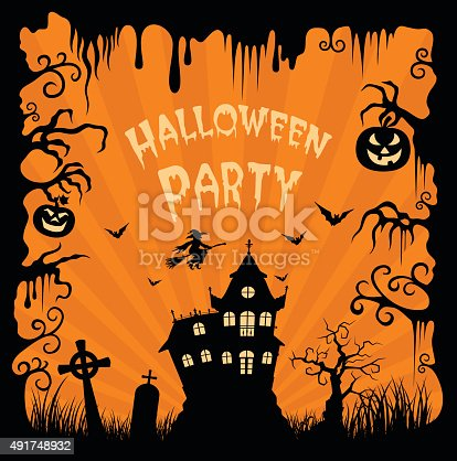 istock Haunted House 491748932