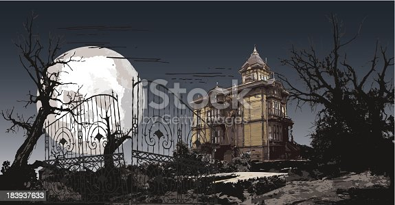 istock haunting manor 183937633
