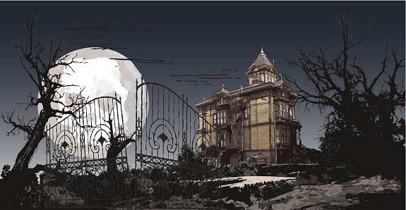haunting manor