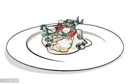 istock Haute Cuisine 1211051083