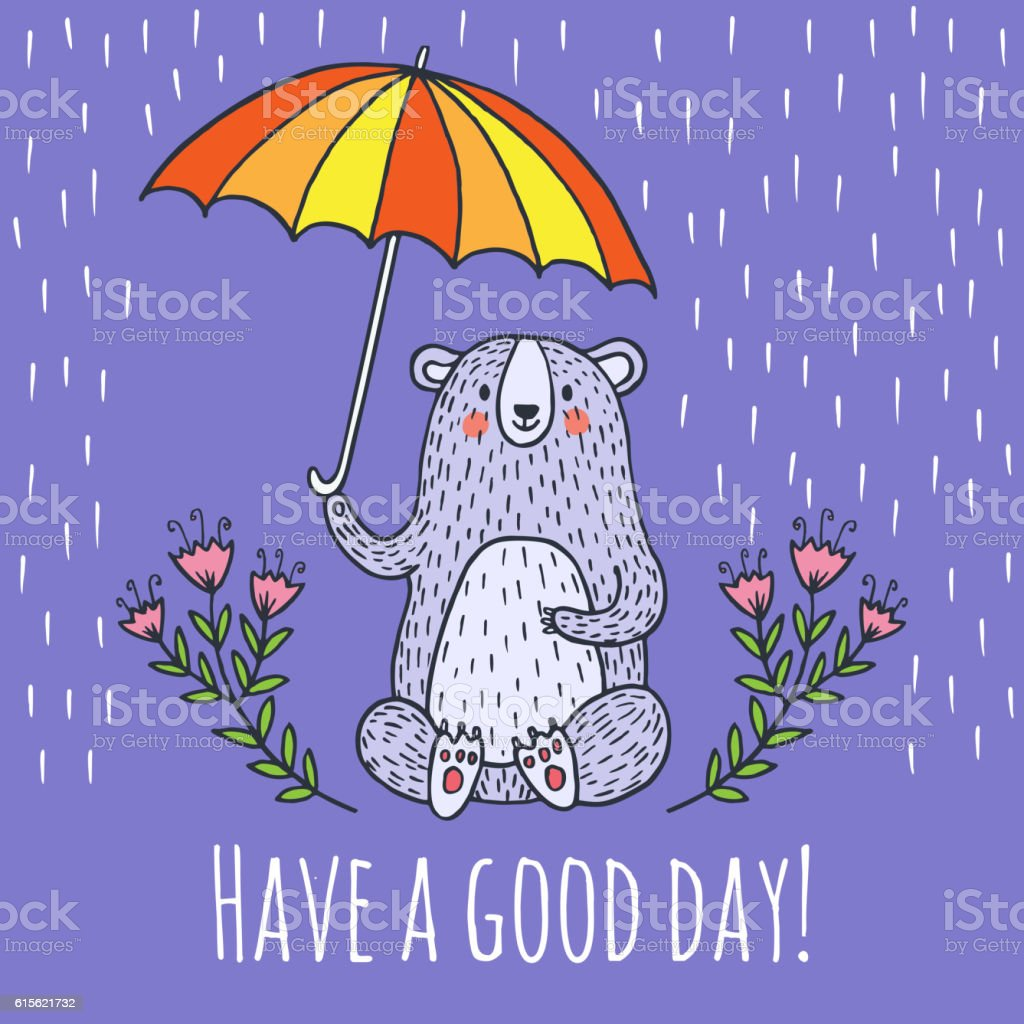 Have a good day greeting card stock vector art more images of have a good day greeting card royalty free have a good day greeting card stock m4hsunfo