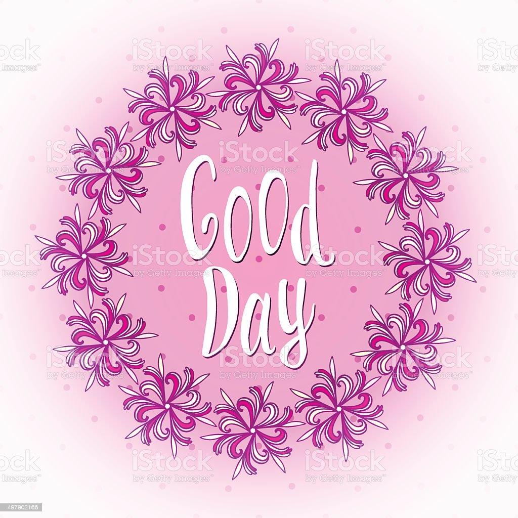 Auguro Una Buona Giornata Bella Giorno Auguri Di Carta