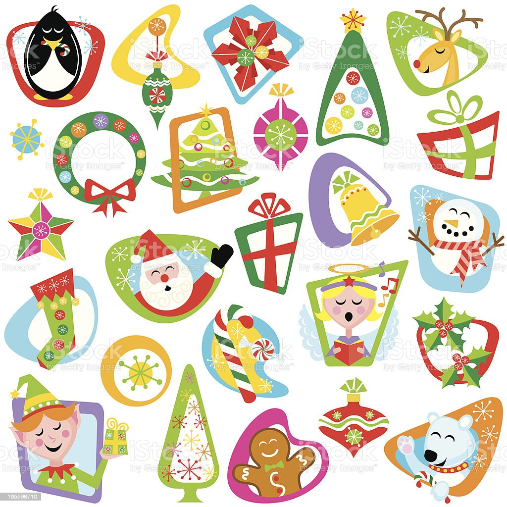 Have A Merry Myriad Christmas! royalty-free have a merry myriad christmas stock vector art & more images of angel