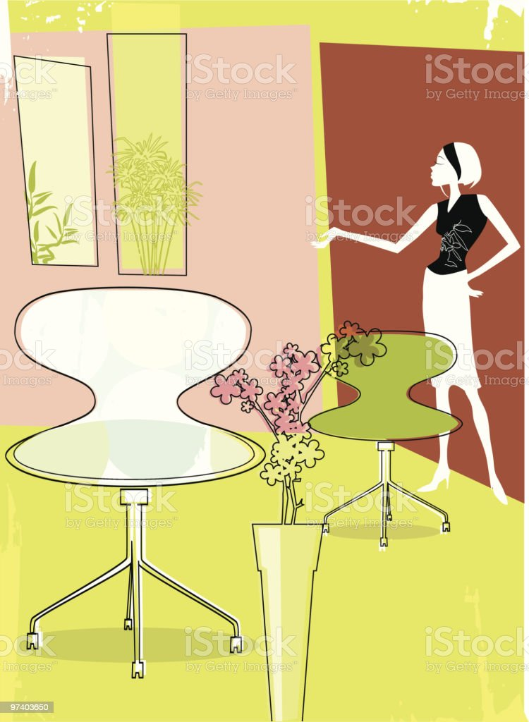 Have a Seat royalty-free stock vector art
