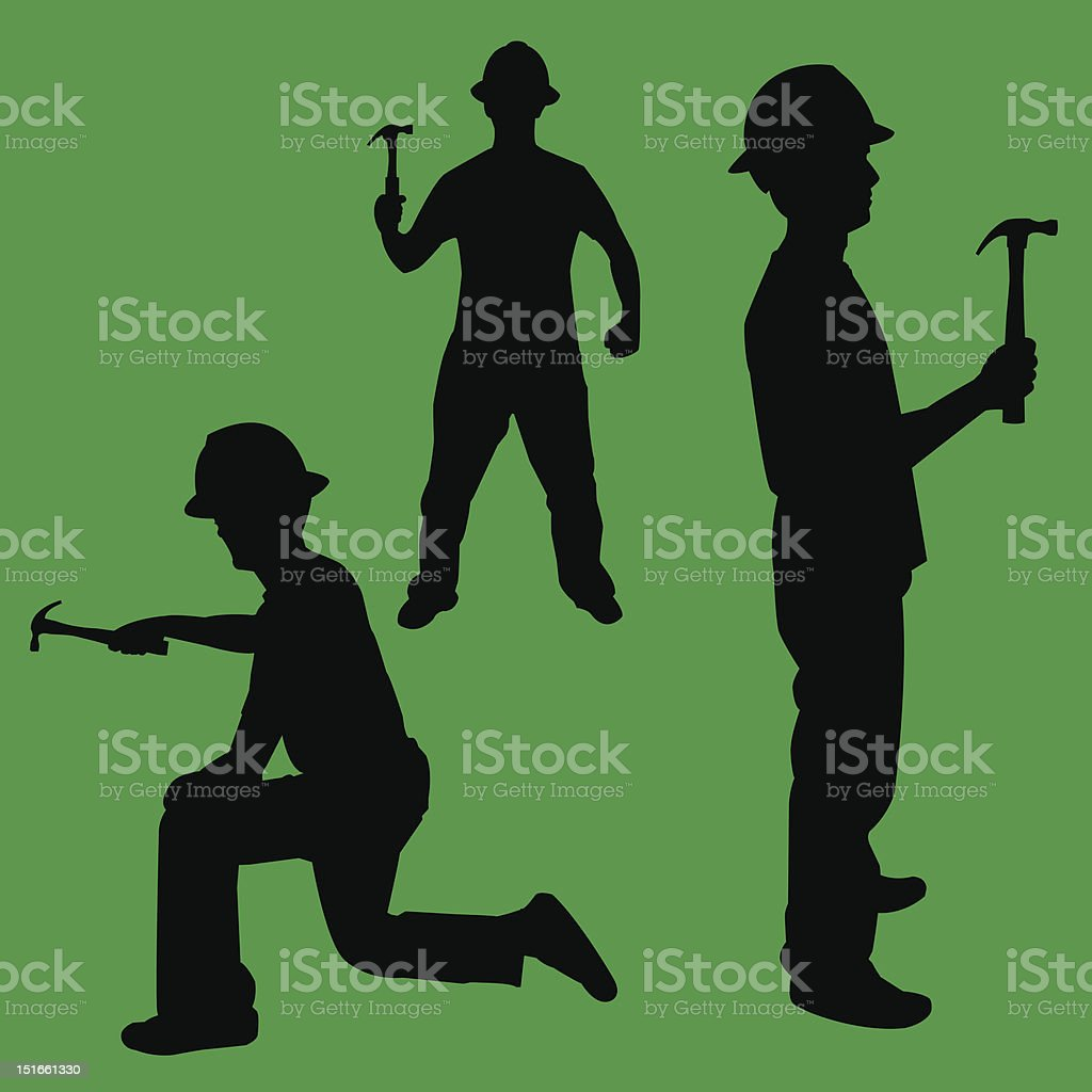 have hammer, will work royalty-free stock vector art