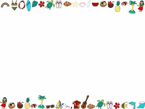 Hawaii icon frame