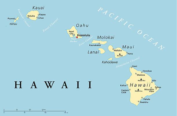 Top Hawaii Islands Clip Art, Vector Graphics and Illustrations - iStock
