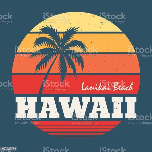 Hawaii lanikai beach tee print with palm tree vector id657527774?b=1&k=6&m=657527774&s=612x612&h=1 oas8f vaawozilhe99bcrvl8x  xo 7pdmv1m3kfk=
