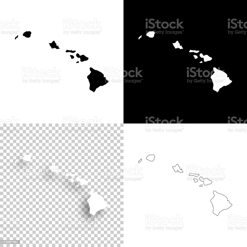 Hawaii Maps For Design