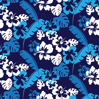 Hawaii seamless pattern