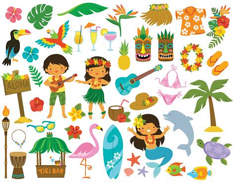 Hawaii Tropical Clip art